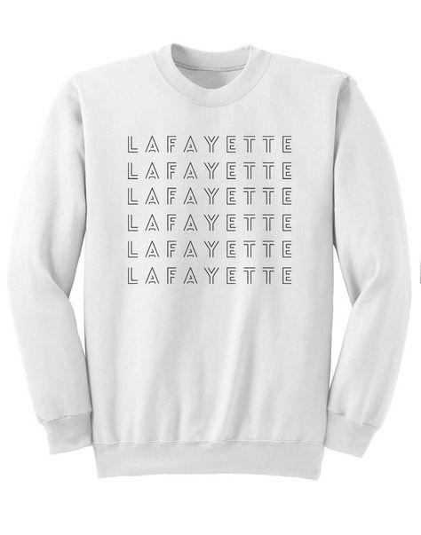 532a29be Lafayette Sweatshirt Revolutionaries Hamilton Musical