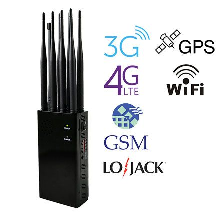 This Is A Jammer That Can Be Used Outdoors For A Long Time It Has A Large Capacity Battery Of 8000 Mah With The Extended An Cell Phone Antenna Jammer Antenna
