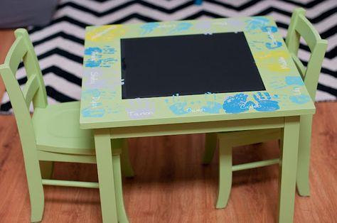 Little Gray Table: Preschool Auction Project
