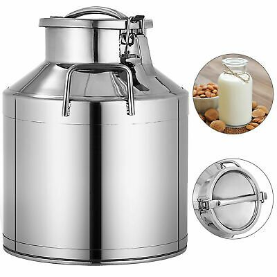 Sponsored Ebay Stainless Steel Milk Can With Lid 10l Capacity In 2020 Milk Cans Stainless Steel Containers Pail Bucket