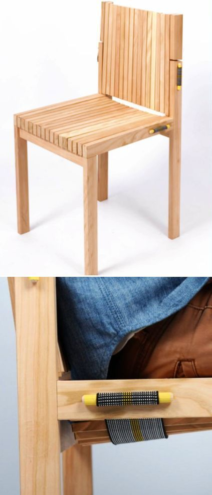 LENO: Chair Hiding Comfort in its Simple Wooden Design ...