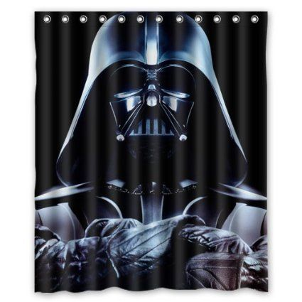 Star Wars Darth Vader Shower Curtain 60x72 Inch For More