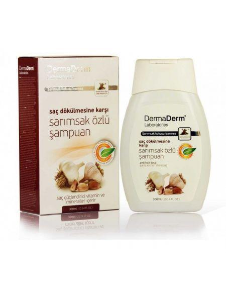 Dermaderm Garlic Shampoo Sampuan Sarimsak Urunler