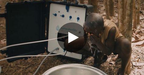 Sunwaterlife, une entreprise française propose un accès à l'eau potable partout…