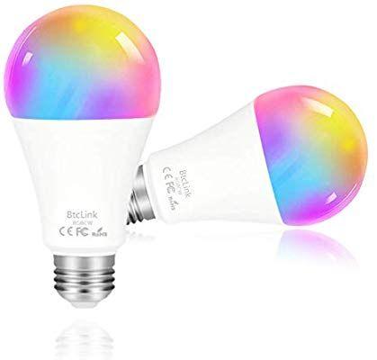 Smart Light Bulb That Works With Alexa Echo Dot Google Home Mini Samsung No Hub Required Color Smart Light Bulbs Color Changing Light Bulb Led Light Bulb