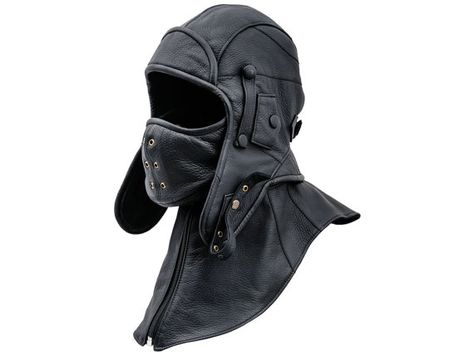 Siberia - Leather Genuine leather aviator/trapper cap with detachable collar and mask. Both easily removable. Dedicated for extreme weather conditions - storm, frost, blizzard. Aviator Hat, Tactical Clothing, Detachable Collar, Bow Sneakers, Leather Craft, Leather Men, Leather Collar, Fashion Brands, Aviation