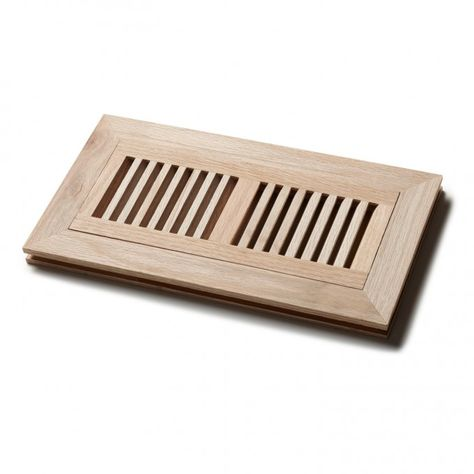 Flush Mount Wood Floor Grille