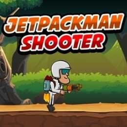 لعبة جيت مان شوتر Jetpack Man Shooter World Puzzle Escape Game Puzzle Drawing