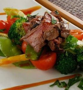 Thai beef stir fry (great for all phases)