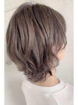 30代40代小顔ふんわりくびれ無造作カールひし形cカーブセミディ L042233426 アンドヘアー Hair のヘアカタログ ホットペッパービューティー In 2020