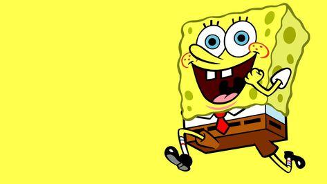 HD wallpaper: Spongebob Squarepants Run Yellow HD, cartoon/comic