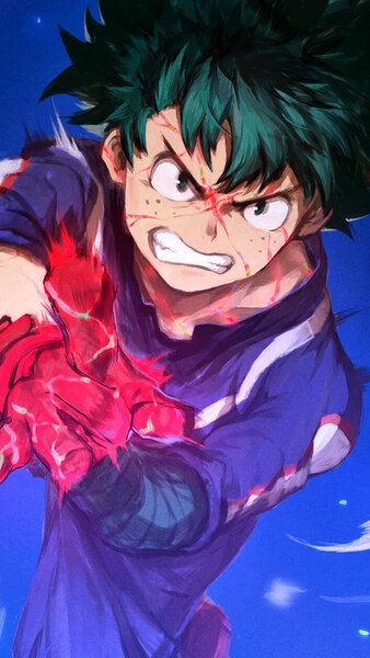 Izuku Midoriya My Hero Academia 4k Hd Mobile Smartphone And Pc Desktop Laptop Wallpaper 3840x2160 1920x1080 2160x3840 1080 My Hero Hero My Hero Academia
