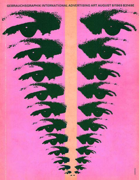 Gebrauchsgraphik/Novum Design magazine, August 1969