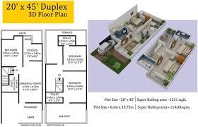 Image Result For 20 40 House Plan 3d Simple House Plans House Plans Simple House