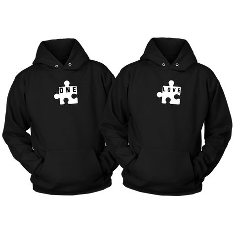 One+Love Combo Adult Hoodie Set - XL / 5XL