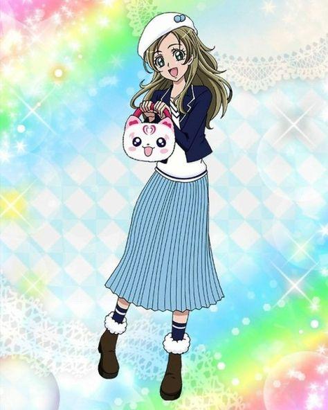 precure tsunagaru pazurun minamino kanade all cards pretty cure magical girl anime smile pretty cure