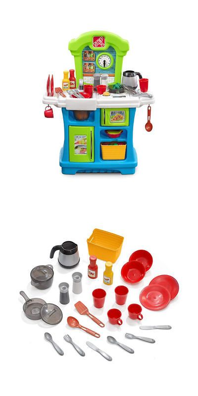 Step 2 52344: Step2 Little Cooks Kitchen Playset With 21 ...
