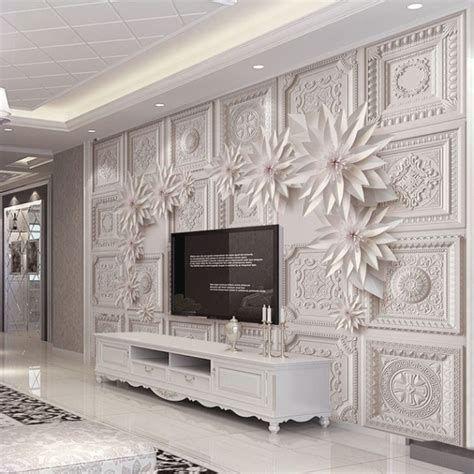 Wallpaper Dinding Untuk Ruang Tv In 2020 3d Wallpaper For Walls Wall Wallpaper Wallpaper