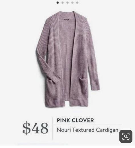Stitch Fix Pink Clover Nouri Textured Cardigan #stitchfix