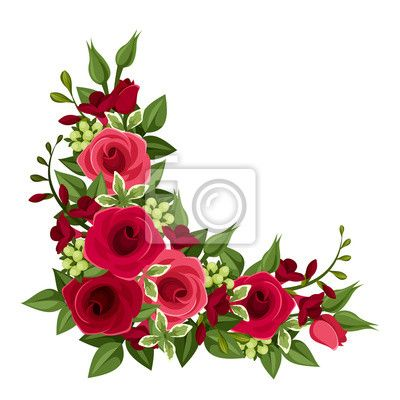 Red Roses Transparent Png Clipart Clipart Flores Rosas