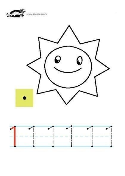 coloring pages numbers activities  zahlen lernen