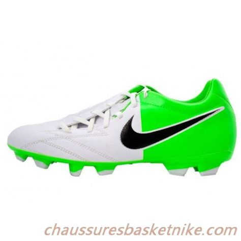 entire collection new style closer at Nike T90 IV FG Tir Football Crampons - Blanc avec Vert et ...