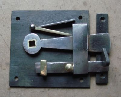 19th Century Bow Latch with Interior Privacy Bolt Ref.92367C | Antique Door  Hinges & Latches | Pinterest | Antique doors, Door hinges and Interiors - 19th Century Bow Latch With Interior Privacy Bolt Ref.92367C