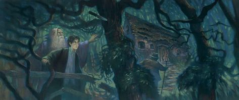Harry Potter Half Blood Prince 6.1 Mary GrandPre SIGNED Bookcover Giclee Lim Ed of 500