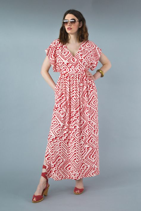 Welcome Summer with our Charlie Caftan Pattern | couture printemps ...