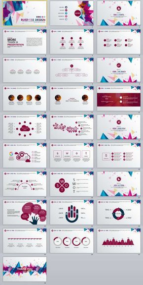 28+ Best business multicolor PowerPoint templates | The highest quality PowerPoint Templates and Keynote Templates download
