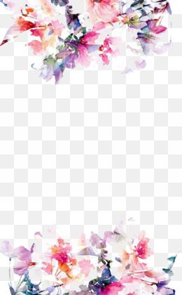 Watercolor Flower Png Watercolor Flower Transparent Clipart Free