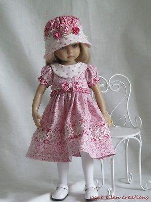 "Debs 3pr Doll Socks BLUE PINK WHITE For Dianna Effner 13/"" Vinyl Little Darling"