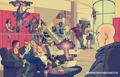 Hipster Superheroes