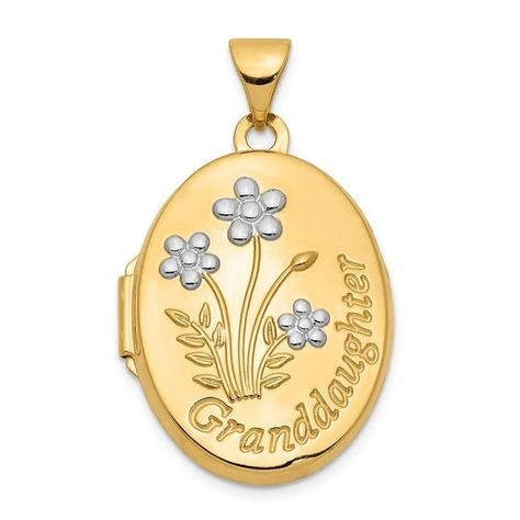 1.60 x 0.94 LoveBling 10k Yellow Gold Tri Color Quinceanera 15 Anos of Virgin Mother Mary Oval Charm Pendant