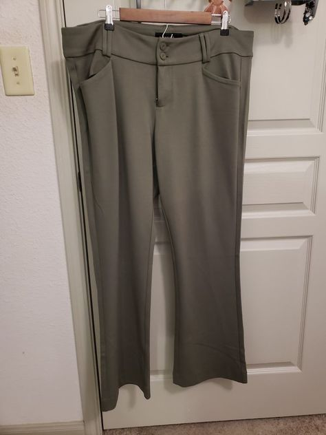 f1a383088c Torrid Olive Pant Womens 18s  fashion  clothing  shoes  accessories   womensclothing  pants  ad (ebay link)