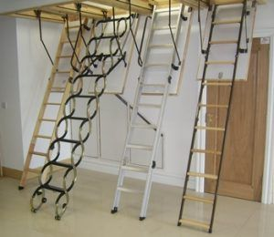 The 5 Best Compact Attic Ladders Of 2019 Reviewed Attic Ladder Attic Stairs Attic Access Ladder