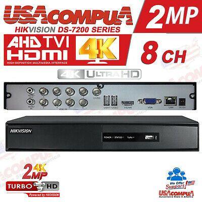 Sunvision 8Ch 1080p 6-in-1 Hybrid DVR AHD//TVI//XVI//CVI//CVBS//IP Cameras 1TB HDD