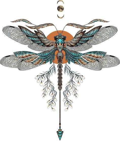 Tattoos And Body Art dragonfly tattoo designs Dragonfly Tattoo Design, Dragonfly Art, Tattoo Designs, Dragonfly Drawing, Sternum Tattoo Design, Dragonfly Painting, Tattoo Ideas, Skull Tatto, Neck Tatto