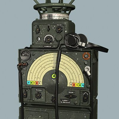 german wwii ww2 wehracht military radio set direction finder