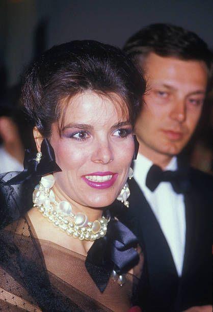 Caroline Fedida Et Son Mari : caroline, fedida, 20/03/87, Paris, France, Princesse, Caroline, Monaco, Stephano, Casiraghi, Soiree, Princess, Monaco,, Caroline,