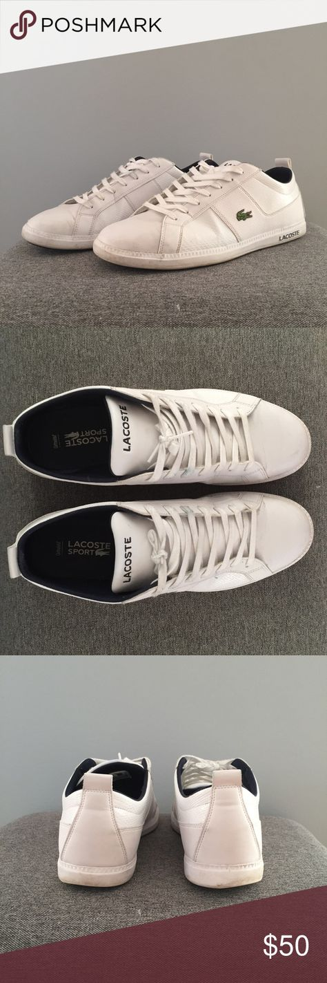 727a3020153f4e Men s Lacoste Sport Sneakers Used but great condition and kept super clean!  Lots of life