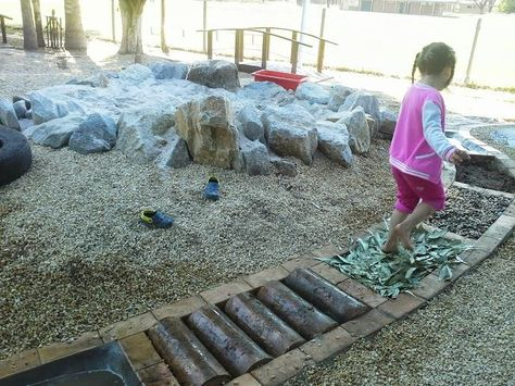 "Fabulous sensory path at Stuarts Point Preschool ("",)"