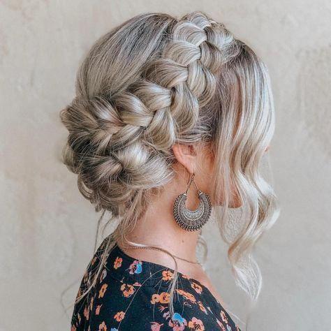Cute And Quick Braids Into A Bun Hair Styles Long Hair Styles New Braided Hairstyles