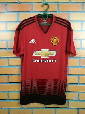 sacerdote calidad Disfraces  Ad(eBay Link) Manchester United Jersey 2018 2019 Home M Shirt Adidas  Football Soccer CG0040 in 2020 | Soccer shirts, Adidas country, Sweden  soccer