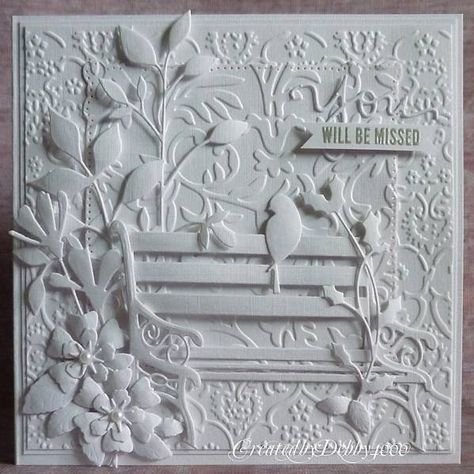 White on White by Debby4000 - Cards and Paper Crafts at Splitcoaststampers