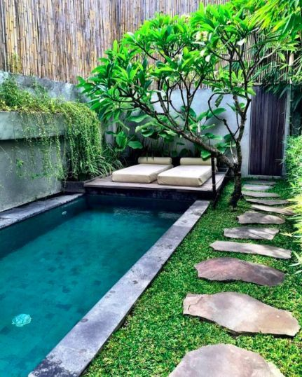Plunge Pool Inspiration Chic Small Swimming Pools Ideas Small