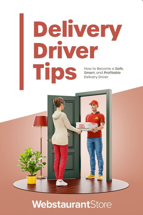 Delivery Driver Tips And Tricks Delivery Driver Delivery Tips