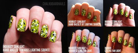 Nail Photography: Lighting, background, and focus.