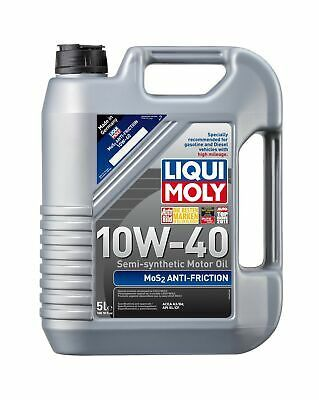 Ebay Advertisement Liqui Moly 2043 Mos2 Anti Friction 10w 40 Motor Oil 5 Liter Bottle Good Ageing With Images Oils Oil Change Automobile Marketing