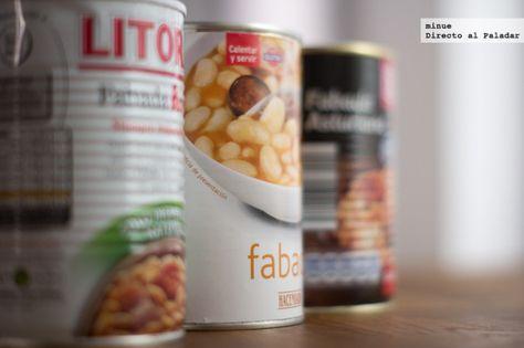 Comparativa De Fabadas En Lata Recetas De Comida Alimentos Para